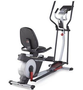 Exercise Bike Elliptical Combo