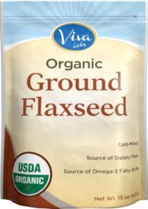 how much flaxseed per day