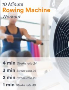 row machine workout