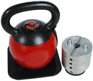 adjustable weight kettlebells