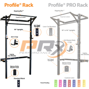 Prx performance profile rack review home gym drench fitness for Prx performance