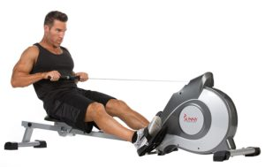sunny rowing machine review