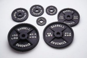 olympic barbell weight set