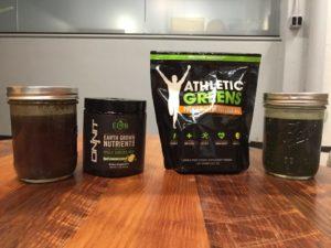earth grown nutrients vs athletic greens