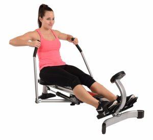 compact rower machine