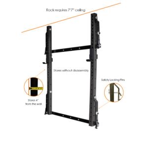 prx profile pro rack pink frame