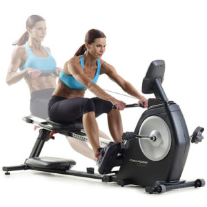 proform dual trainer bike rower reviews