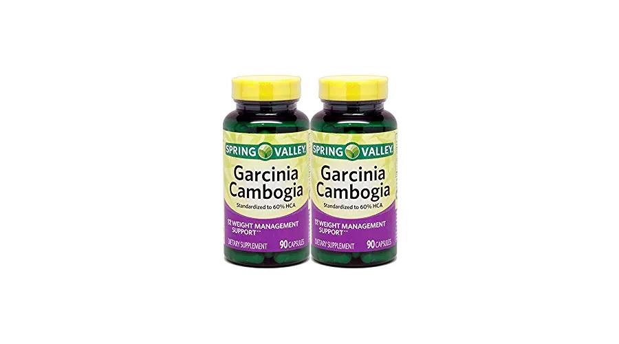 Spring Valley Garcinia Cambogia 60 Hca 800 Mg Drenchfit