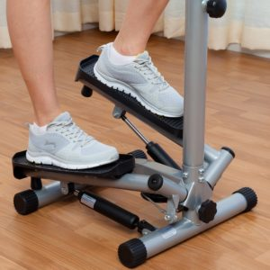 sunny twister stepper with handlebar review