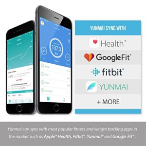 yunmai premium bluetooth smart body fat scale & body composition monitor review