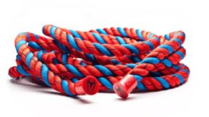 picture of the Spider Man Battle Ropes by ONNIT in the Hero Elite Series Marvel Comic Book Collection